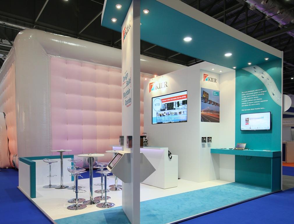 New Exhibition Stand Design : New kier exhibition stand design the black pear